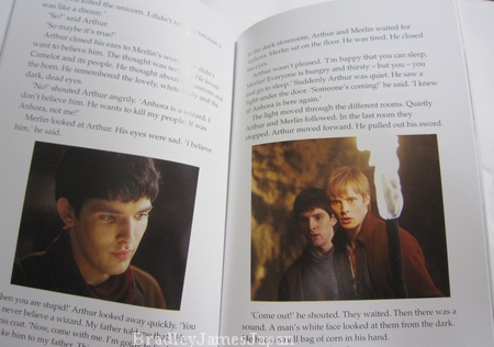 Merlin:Arthur and the unicorn